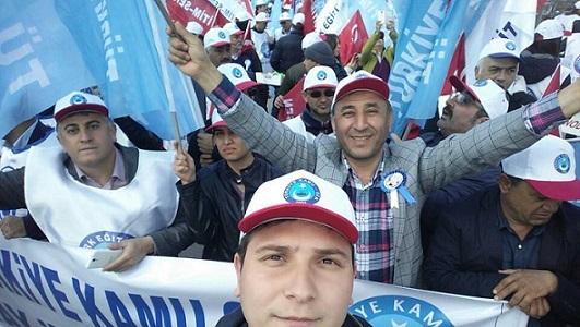 Hatay Şubesi Olarak Ankara Kolej Meydanındaki Mitinge Katıldık.