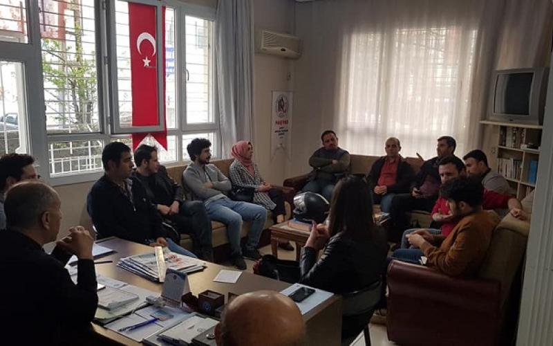 Mustafa Kemal Üniversitesi'den Türkiye Kamu-Sen'e ziyaret