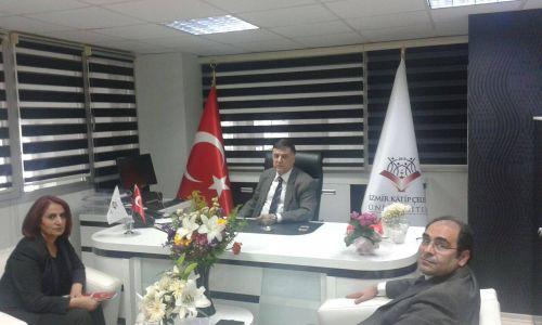 İzmir Katip Çelebİ Diş Hekimliği  Fakültesi Dekanını Ziyaret Ettik
