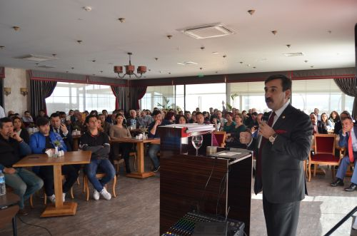 İzmir Şubeleri Temsilci Eğitim ve İstişare Toplantımız