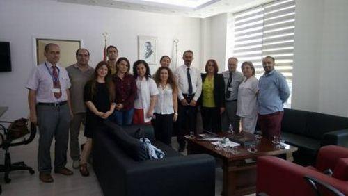 Dokuz Eylül Üniversitesi  HastanesiBaşhekimliği 'ne Ziyaret