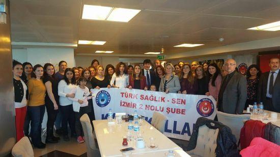 Türk Sağlık-Sen'li Kadınlardan Askerlere Mektup Var