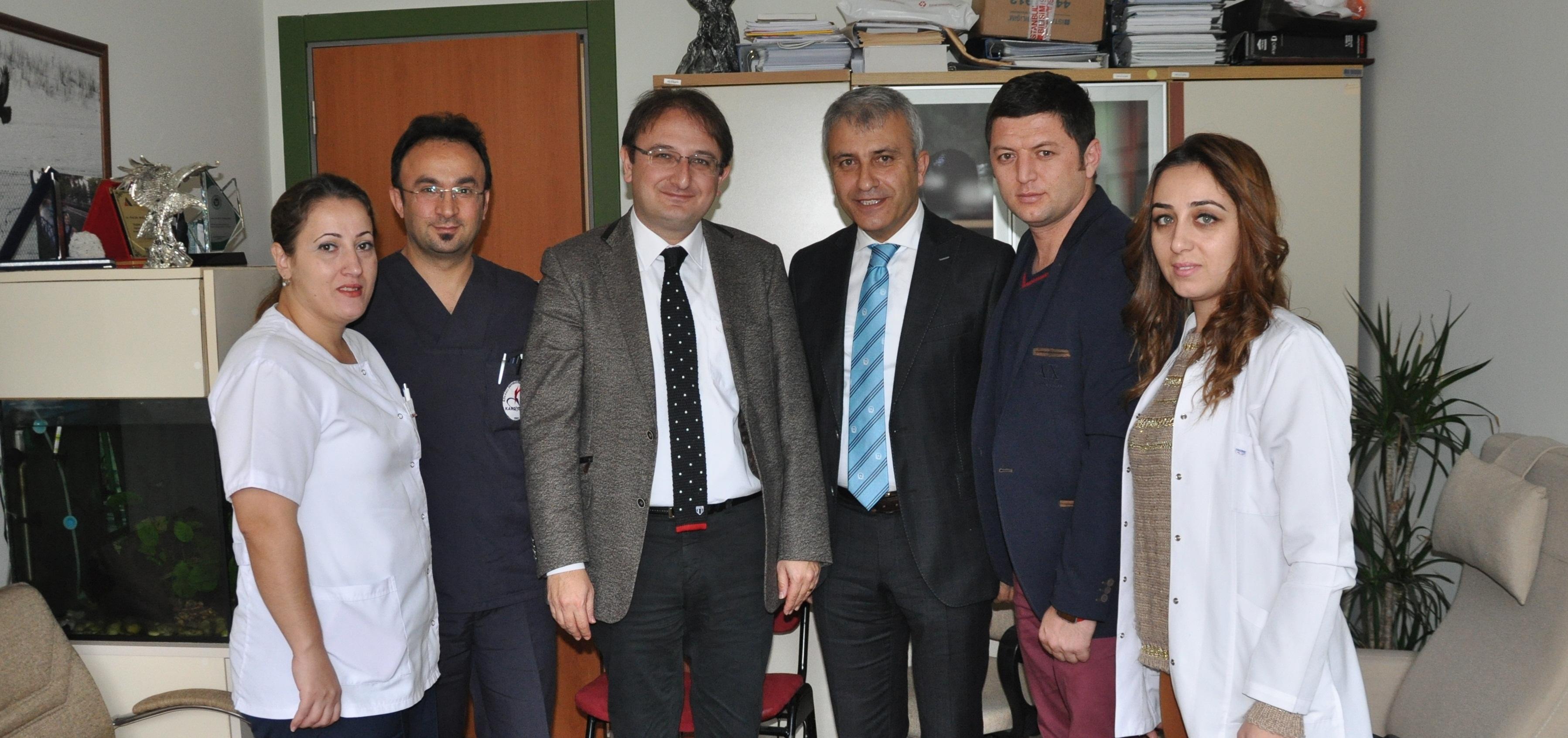 Çeker, Çalışanların Sorunlarını Prof. Dr. Aksuya Aktardı