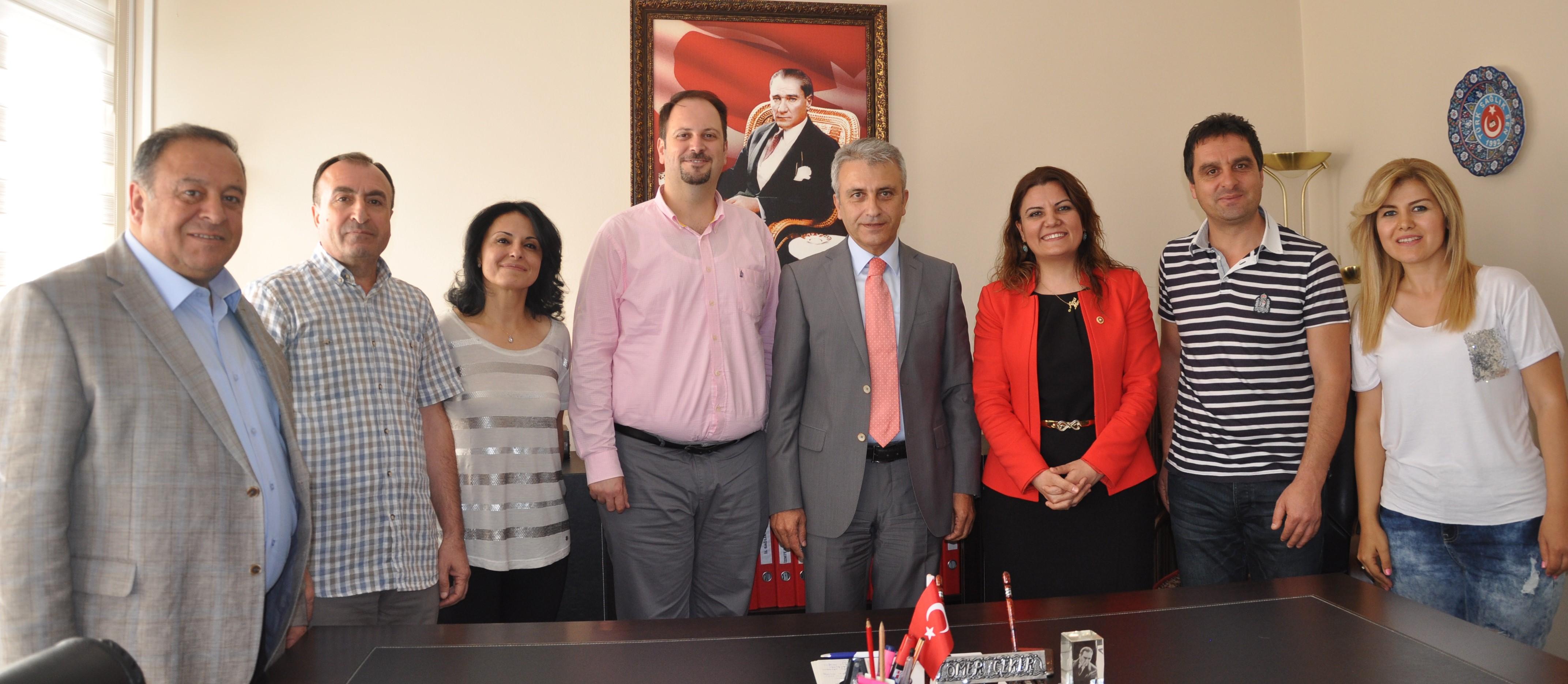 Milletvekili Hürriyet'ten Sendikamıza Ziyaret