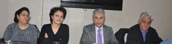Türk Sağlık Sen Kocaeli Şube Başkanı Ömer Çeker Temsilci toplantısı yaptı.