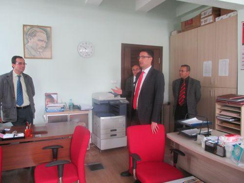 Halk Sağlığı İl Müdürlüğünü Ziyaret Ettik