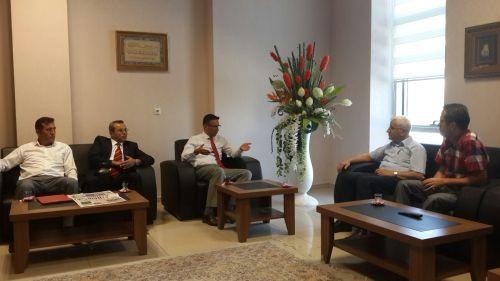 Şube Başkanımız Hamza OLGUN, Şube Başkan Yardımcımız Üstün KOLERİ ile birlikte 01/09/2015 Salı günü Yerel Basın kuruluşlarımızı ziyaret etti.