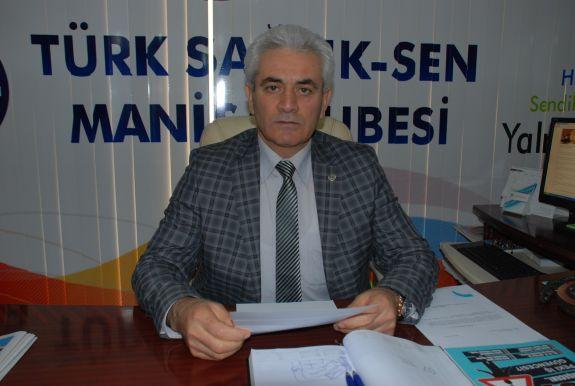 Türk Sağlık-Sen Manisa Şube Başkanı Rıtvan Mutlu 13 Mart Pazar günü Ankara'da gerçekleşen kanlı teröre tepki verdi.Biliyorsunuz dün 14 Mart Tıp Bayramıydı.