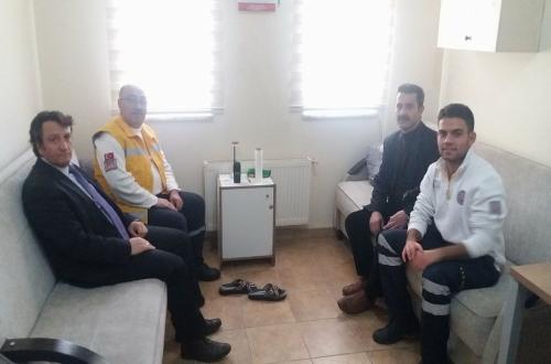 Haftalık ziyaretler kapsamında Acıgöl ilçesi Toplum Sağlığı Merkezi ve 112 Acil Sağlık İstasyonunu ziyaret ettik.