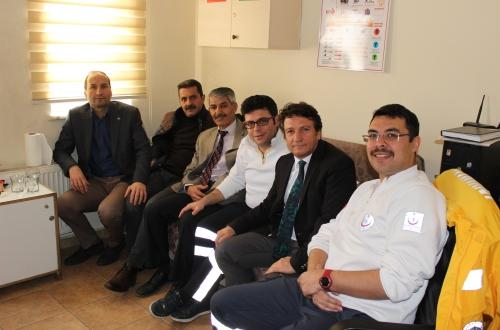 Türk Sağlık Sen Nevşehir Şubesi olarak haftalık ziyaretler kapsamında Acıgöl ilçesi Toplum Sağlığı Merkezi ve 112 Acil Sağlık İstasyonunu ziyaret ettik.