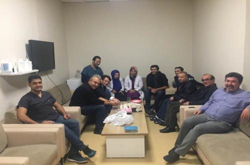 Nevşehir Devlet Hastanesinde Radyoloji Çalışanlarının Günlerini Kutladık.
