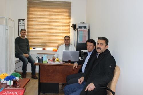 Yeni Hizmete Açılan H.Rabia Boyacı Aile Sağlığı Merkezini Ziyaret Ettik.