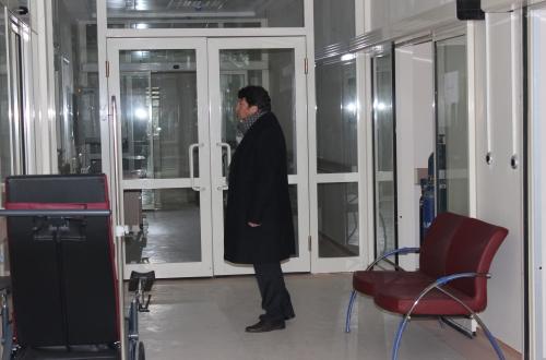Çetin: Derinkuyu İlçe Hastanesinde Çalışanlarla Buluştu