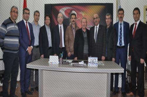 Türk Eğitim Sen'e 24 Kasım Ziyareti