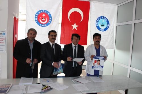 Nevşehir Devlet Hastanesinde İmza Kampanyası