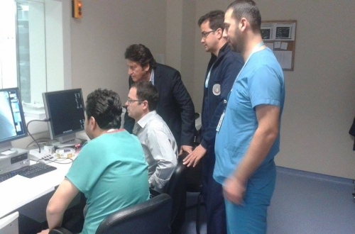 Nevşehir Devlet Hastanesi Anjiyo Servisini Ziyaret Ettik.