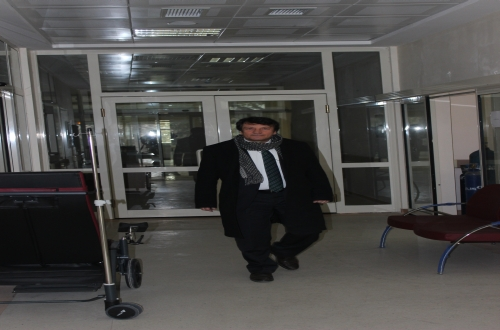Türk Sağlık Sen Nevşehir Şube Başkanı Turgay Çetin ve Yönetim Kurulu Üyeleri, Derinkuyu'da faaliyete geçen Derinkuyu İlçe Hastanesi'nde sağlık çalışanlarını ziyarette bulundu