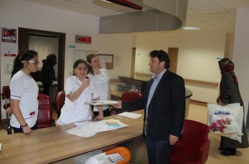 Türk Sağlık Sen Nevşehir Şubemiz Kadın Kolları tarafından organize edilen Ebeler Haftası kutlamasına Şube Başkanımız Turgay Çetin'de katıldı.