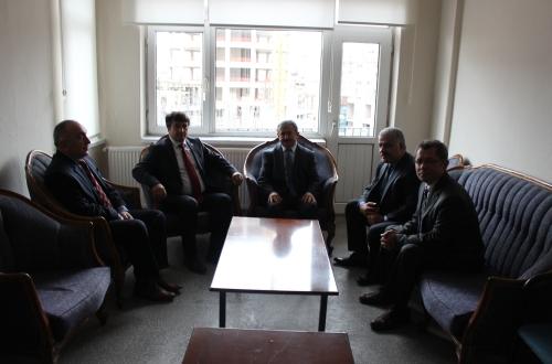 Nevşehir Sosyal Güvenlik Kurumu İl Müdürü Mehmet Ali Yıkarbaba, sendikamızı ziyaret etti.