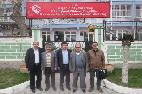 Gümüşkent Rehabilitasyon Merkezini Ziyaret Ettik.