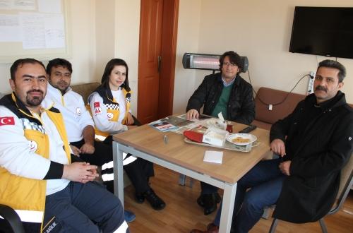 Türk Sağlık Sen Nevşehir Şubesi olarak haftalık ziyaretler kapsamında Kaymaklı Aile Sağlığı Merkezi ve 112 Acil Sağlık İstasyonunu ziyaret ettik.