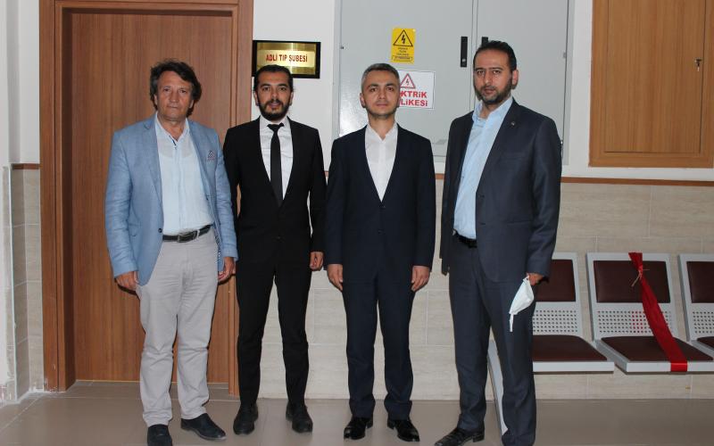Nevşehir Adli Tıp Şubesini ziyaret ettik.