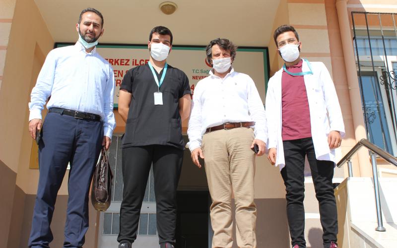Merkez İlçe Göçmen Sağlığı Merkezini Ziyaret Ettik.