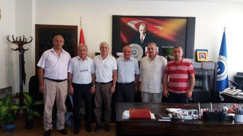 KTÜ Genel Sekreterlik Görevine Atanan Sn. Mehmet KARABAYIR'ı Ziyaret Ettik