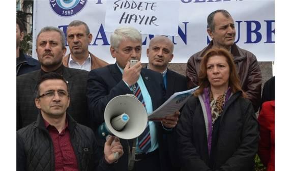 Trabzon Şube Başkan Yardımcımız Dr. Hasan Eraydın'a Silahlı Tehdit Yapıldı.