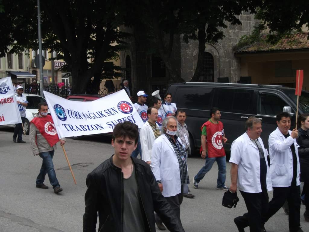 Op.Dr. Kamil FURTUN İçin  Beyaz Çığlık Eylemi Yaptık