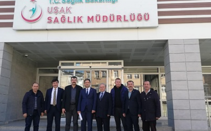 Türk Sağlık Sen Genel Başkan Yardımcılarımızın İl Sağlık Müdürünü Ziyaretleri