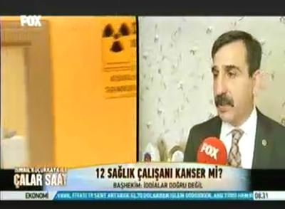 Kayseri Erciyes Üniversitesi'nde çalışan 12 Radyoloji teknisyeni kansere yakalandı.