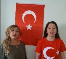 Antalya Gazipaşa'da görev yapan Türk Sağlık-Sen üyeleri İstiklal marşının kabulünün 96. Yıldönümü nedeniyle muhteşem bir çalışmaya imza atarak istiklal marşının yorumladılar.