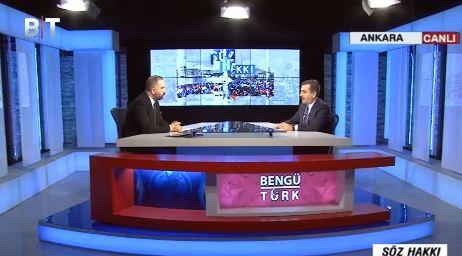Genel Başkanımız Bengütürk TV'de yayınlanan Söz Hakkı Programına Katıldı. Programda, sağlık çalışanlarının sorunlarını ve toplu sözleşme sonuçlarını değerlendirdi.