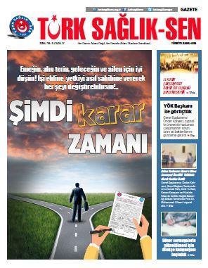 Gazete Türk Sağlık-Sen 77. Sayı