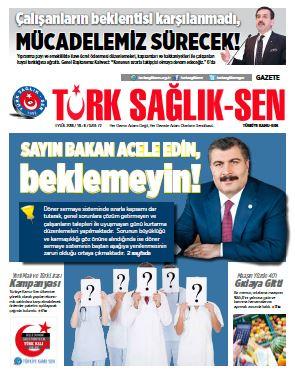Gazete Türk Sağlık-Sen 72. Sayı