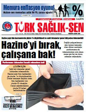 Gazete Türk Sağlık Sen 47. Sayı
