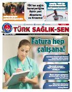 Gazete Türk Sağlık Sen - 66. Sayı