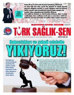 Gazete Türk Sağlık Sen 54. Sayı
