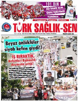 Gazete Türk Sağlık Sen 44. Sayı
