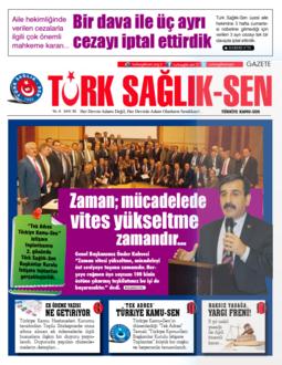 Gazete Türk Sağlık Sen - 50. Sayı