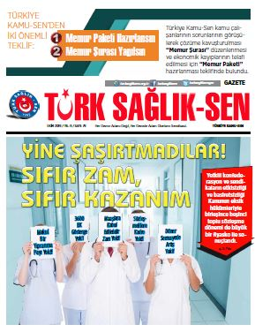 Gazete Türk Sağlık-Sen 79. Sayı