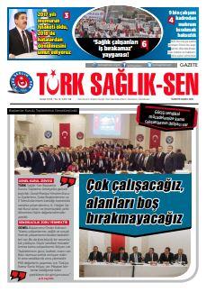 Gazete Türk Sağlık-Sen 68. Sayı