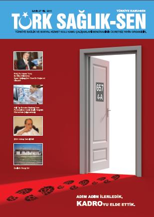Türk Sağlık Sen Dergisi - 27. Sayı
