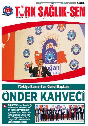 Gazete Türk Sağlık-Sen 71. Sayı