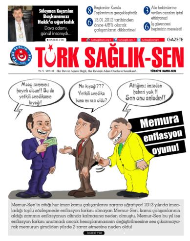 Gazete Türk Sağlık Sen - 48. Sayı