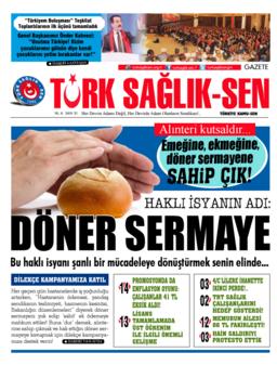 Gazete Türk Sağlık Sen - 51. Sayı