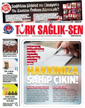 Gazete Türk Sağlık-Sen 73. Sayı