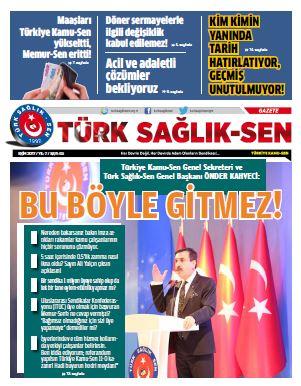 Türk Sağlık Sen Gazetesi 65. Sayı