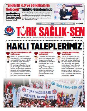 Gazete Türk Sağlık-Sen 76. Sayı